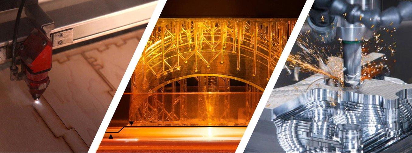 Digital Fabrication - 3d printing, cnc tools