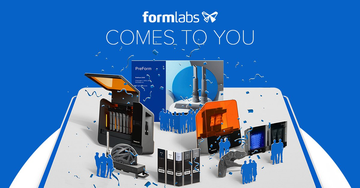 Formlabs Comes To You.