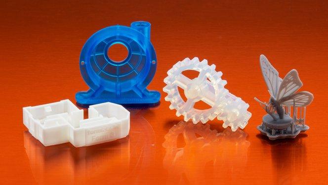 Form 3 - 3D printed sample parts