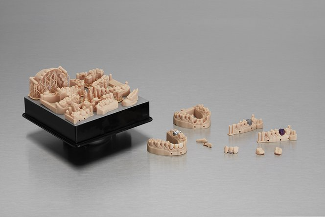 Professional 3D Printing Materials for Digital Dentistry