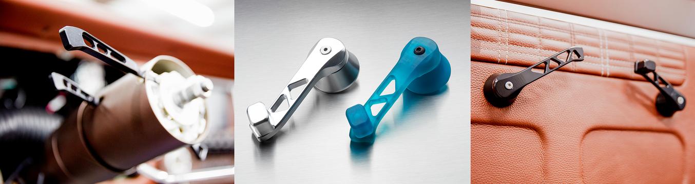 Ringbrothers utilizza la stampa 3D in house per testare adattabilità, aspetto e funzionalità per molte delle loro parti personalizzate.