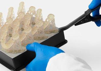 highlight image for Schnellerer Druck von chirurgischen Bohrschablonen, minimalen Stützstrukturen und mehr in PreForm 2.19