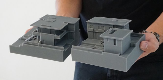 3d printed architecture model 3 Laney LA