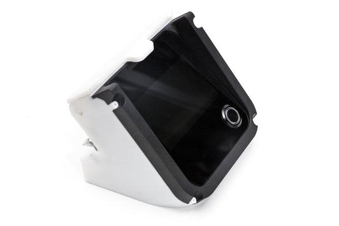 Eine Montagevorrichtung zur Fertigung des Form 2 3D-Druckers von Formlabs.