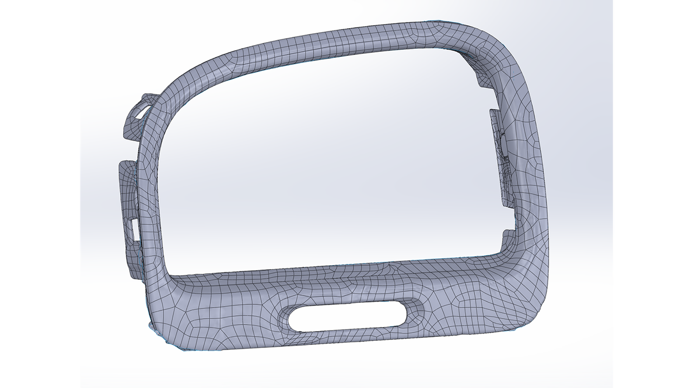 Solidworks automatic surfacing - Reverse Engineering