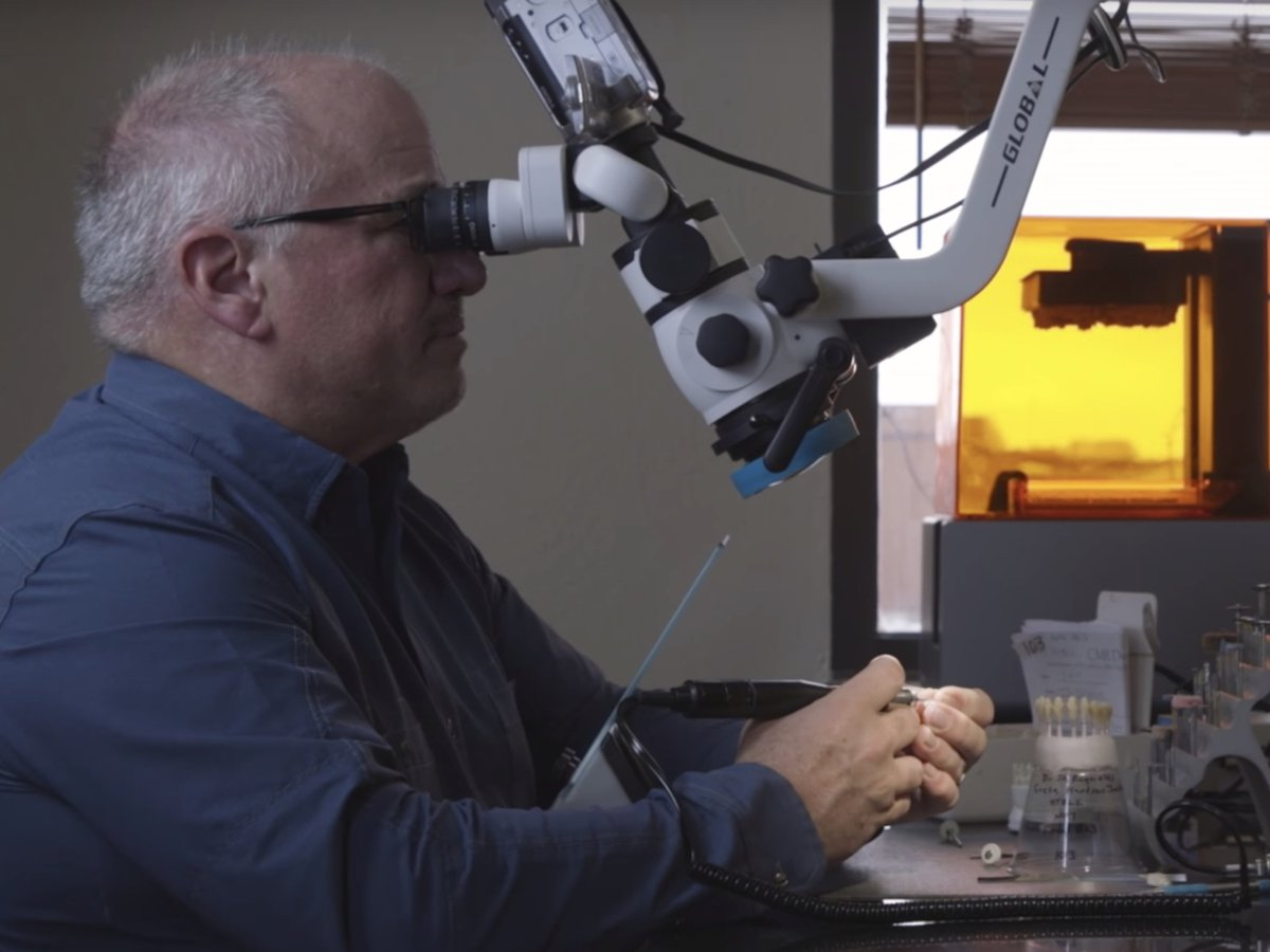 Video - The future of Dental 3D Printing