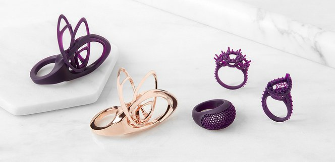 3D Print High Detail Jewelry with New Castable Wax Resin | Formlabs