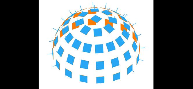 La photogrammétrieanalyse automatiquement un grand nombre de photographies pour créer un modèle 3D.