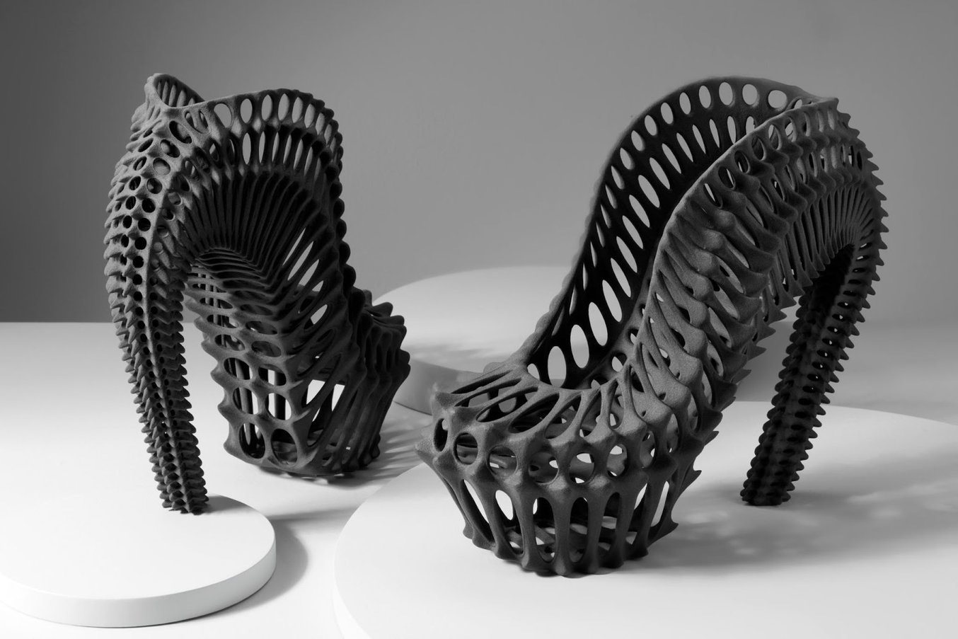 SLS 3D printing is ideal for intricate models and complex geometries. Part printed on a Fuse 1 SLS 3D printer.