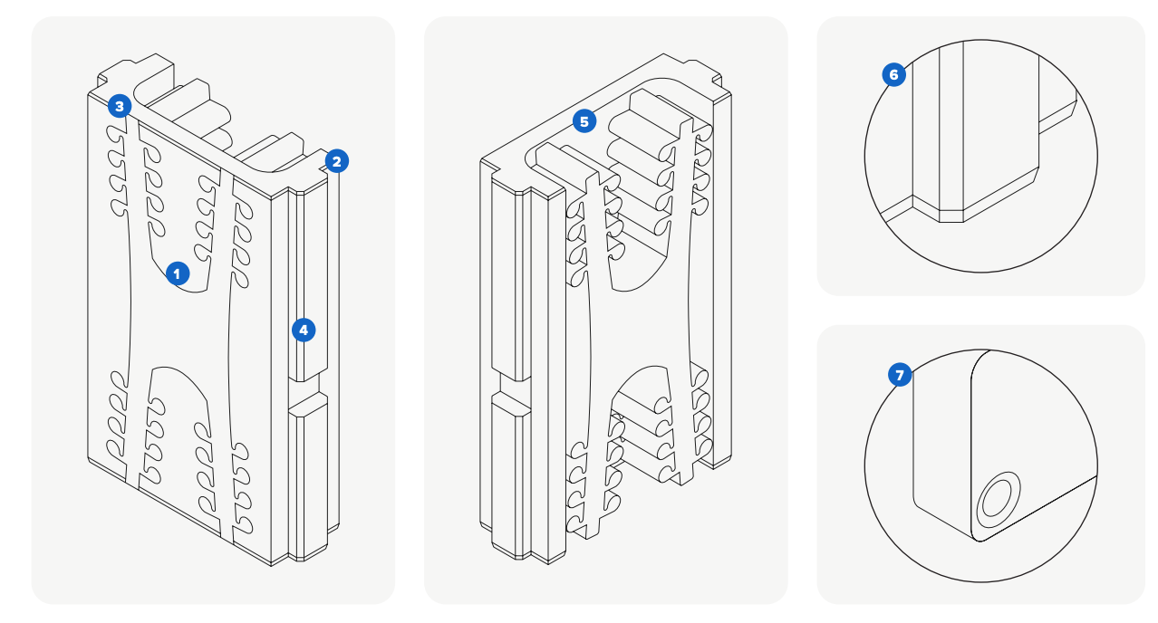 Neben den allgemeinen Regeln zur Gestaltung von Spritzgussformen gibt es mehrere Möglichkeiten, die Standzeit einer Form zu verlängern und die Maßgenauigkeit sicherzustellen. Laden Sie unser Whitepaper für detaillierte Richtlinien herunter.