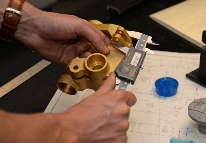 Validación para la fabricación de una pieza de A&M Tool and Design