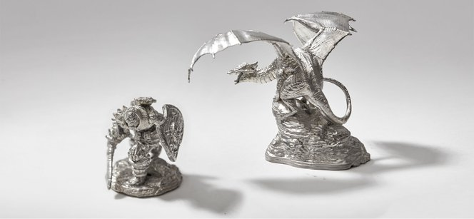 How to Make Metal Miniatures With 3D Printing | Formlabs