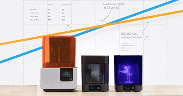 Calcul du retour sur investissement de l'imprimante 3D