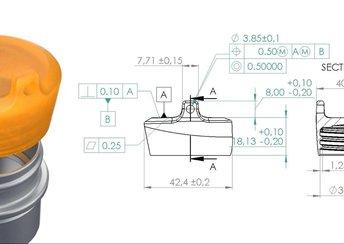 Bild für Die Grundlagen von Form- und Lage-Toleranz (Geometric Dimensioning and Tolerancing, GD&T) markieren