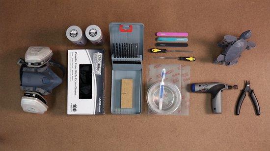 Werkzeuge Leitfaden zum Lackieren von 3D-gedruckten Teilen: Grundierung
