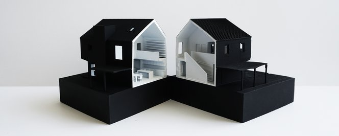 3d printed architecture model Laney LA