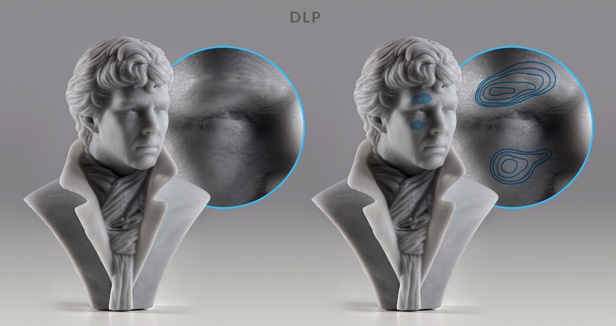 3D printing technology comparison - SLA vs. DLP