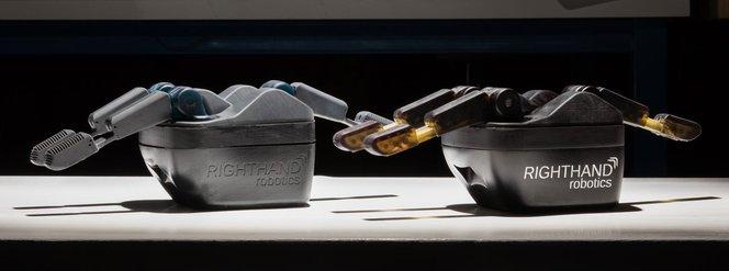 Right hand robotics - Rapid prototyping