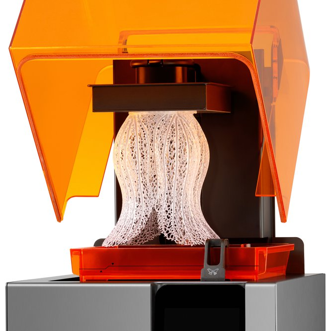 3D printing resolution - Formlabs SLA 3D printers havehigh Z-axis resolution and a low minimum feature size on the XY plane, allowing themto produce fine details.