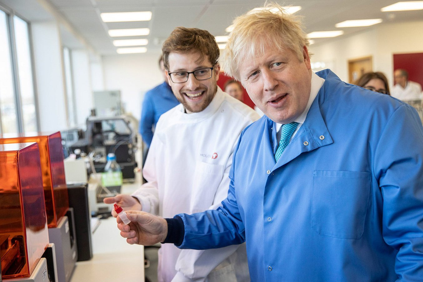 Boris Johnson Mologic.