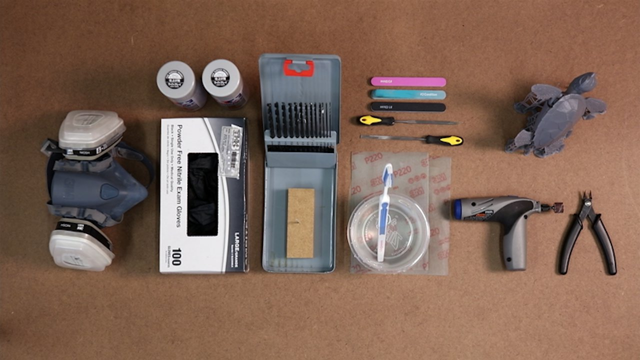 Эти инструменты облегчат грунтовку вашей модели.