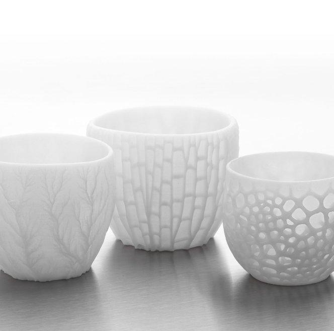 Ceramic Resin - 3D printed parts