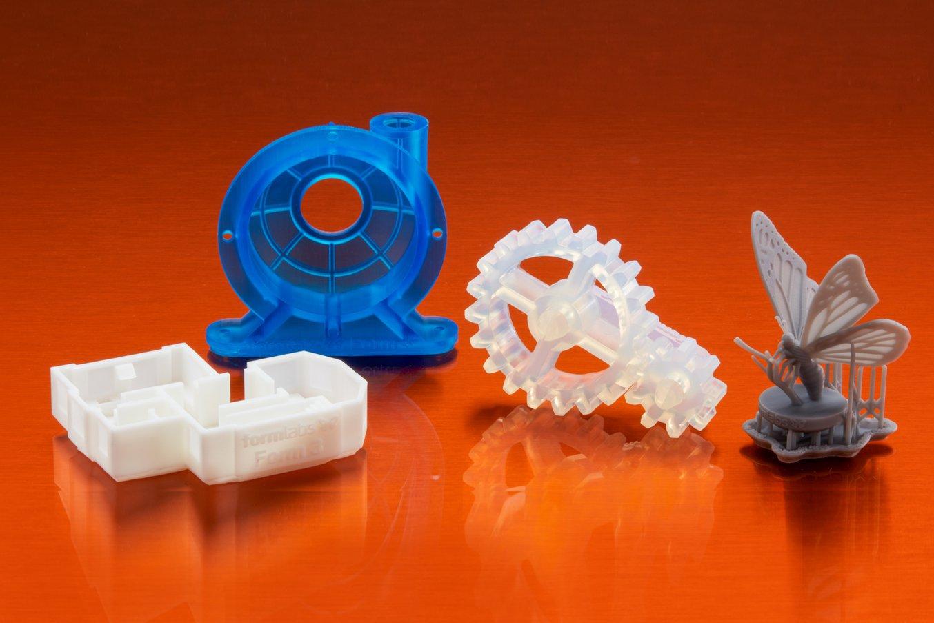 Formlabs sample parts