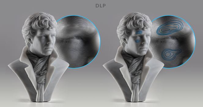 SLA vs DLP Voxel