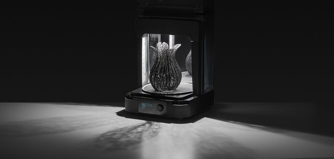 Formlabs' post-cure solution, Form Cure, is designed to optimize the properties of parts printed in Formlabs resins.