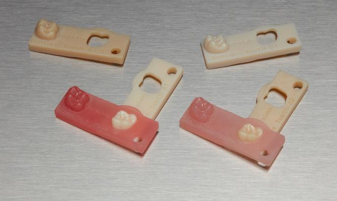 digital denture resin shades from Formlabs