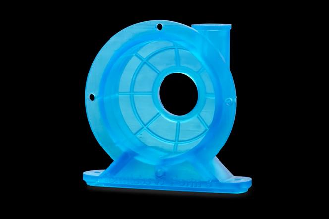 Tough Resin Housing 3D printed part