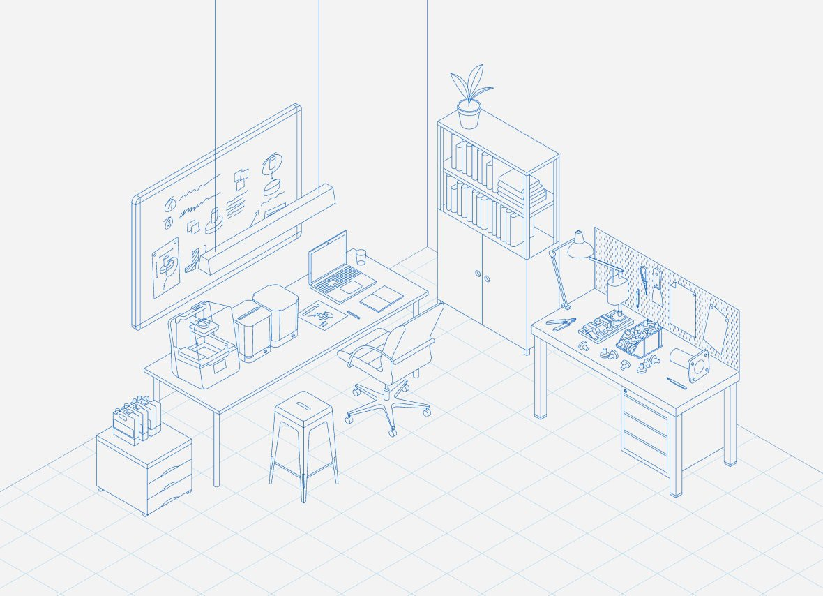 3d printing ecosystem - design, printing, post-processing