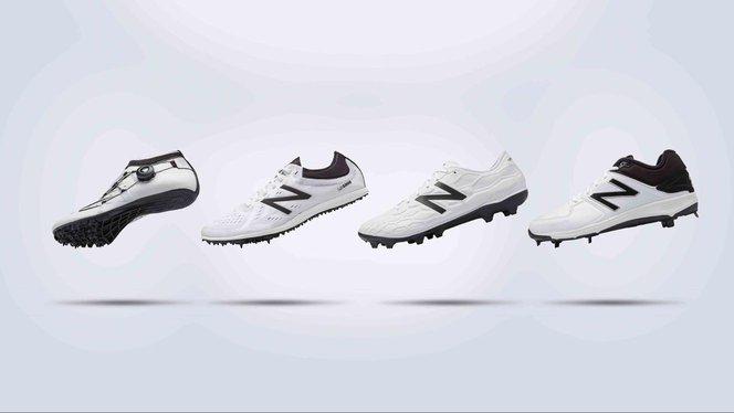 Schuhkonzepte von New Balance mit 3D-gedruckten Zwischensohlen.